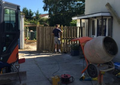 Replaced fence